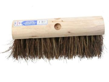 Stiff Bassine / Cane Saddleback Broom Head 325mm (13in)